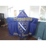 Custom Football Fan Flag Cape