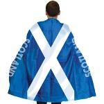 Scottish Football Fan Flag Cape