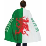 Custom Football Fan Flag Poncho