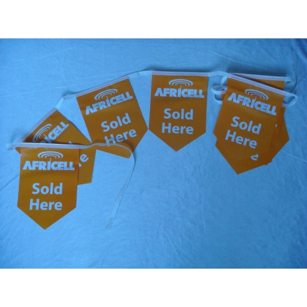 Custom Polyester Bunting Flags