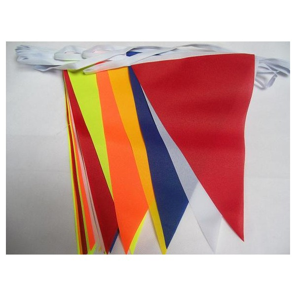 Colorful Polyester Bunting Flag