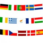 Rectangle National Bunting Flag