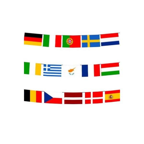 Rectangle National Bunting Flag