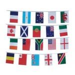 Polyester World Bunting Flag