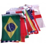 Fabric World Cup Bunting Flag