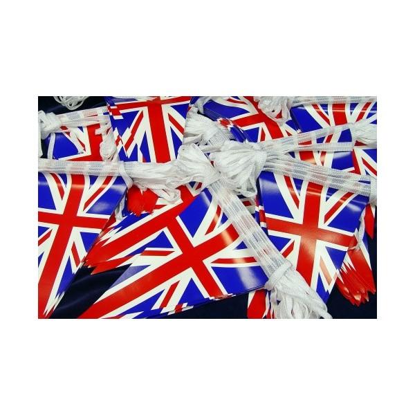 Plastic National Flag Bunting