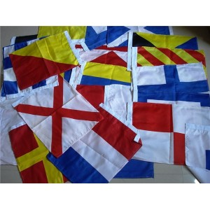 High Quality Polyester Custom Nautical Navy Signal Flags