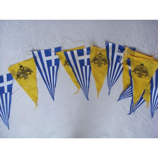 Polyester Custom String Flag