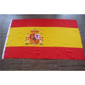 3'x5' polyester Spanish flag World Flag