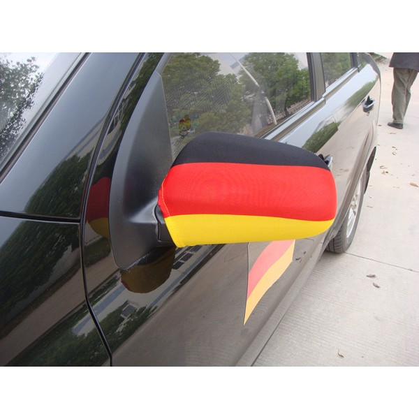 Car Wing Mirror Flags, Flag-ups! - Germany