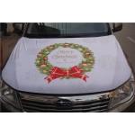 Christmas Engine Hood Cover