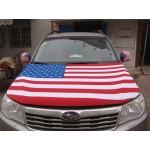 Custom Auto Hood Flag
