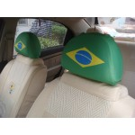 Germany Auto Headrest Cover-Set of 2