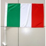 Italy Car Window Flag