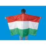 Italy Football Fan Cape Body Flag-Cheering Up!